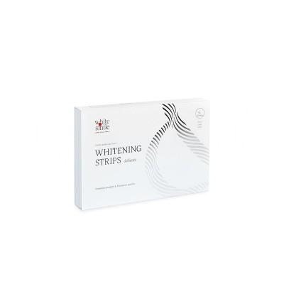Отбеливающие полоски для чувствительных зубов White&Smile Delicate
