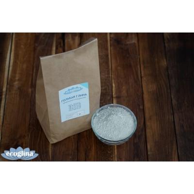 Голубая глина порошковая 1кг