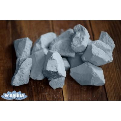 Голубая глина кусковая 10 кг